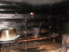 В Хакасии хозяева растопили печь и остались без бани