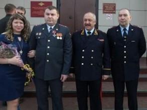 Сотруднику саяногорской полиции вручен Орден Мужества
