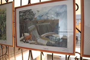 В «Колорите» открылась выставка детских работ «Жемчужина Саян»