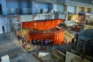 На Саяно-Шушенской ГЭС смонтированы основные узлы гидроагрегата №4