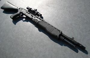 В Саяногорске у мужчины отобрали ружье за выстрелы в неположенном месте
