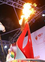 В Саяногорске шаман освятит огонь Паралимпиады
