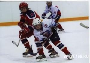 Юные хоккеисты завоевали «бронзу»