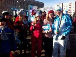 Эстафета Паралимпийского огня в Хакасии завершена, но люди еще празднуют