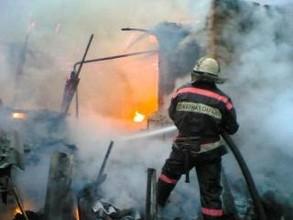 В Хакасии не могут установить личность сгоревшего человека