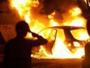 В Хакасии пылали несколько машин и офисное здание
