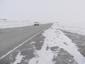 В Хакасии пешеход получил обморожение, заснув на трассе
