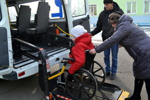 Для детей-инвалидов в Хакасии приобрели оборудованные автобусы