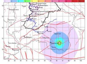 Центр мониторинга зафиксировал в Туве сейсмическую активность в 4-5 баллов