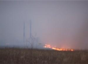 Степные палы окружают Саяногорск
