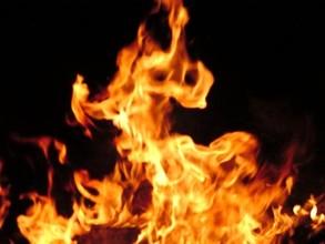 В Майна два человека сгорели заживо