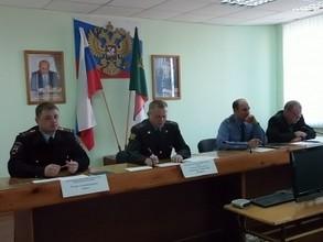 В Саяногорском отделе внутренних дел прошла пресс-конференция с руководством ГИБДД