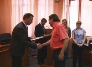 Полицейские Хакасии наградили саяногорских журналистов