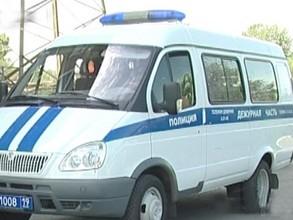 В Хакасии сразу две полицейских машины оказались в кювете