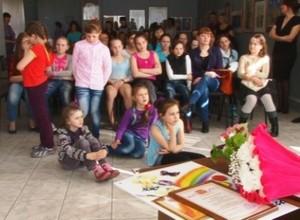 Две персональных выставки открылись в школе «Колорит»