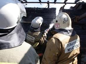 В Хакасии пожар разгорелся до 6 000 квадратных метров