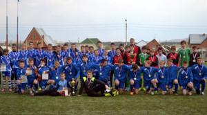 Саяногорская команда стала победителем межрегиональных соревнований по футболу