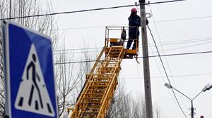 В Хакасии энергетики в сжатые сроки устранили последствия штормового ветра