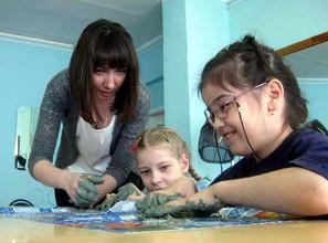 В Саяногорске производится набор детей-инвалидов в объединение прикладного творчества