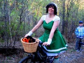В Черемушках провели велопробег и попутно велоликбез