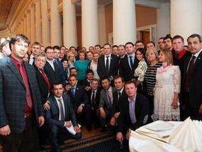 Представитель Хакасии принял участие в работе Палаты молодых законодателей российского парламента