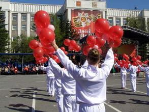 В Хакасии празднование Дня Победы прошло на высоком уровне