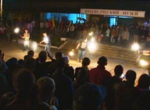 «Ночь в музее» по – саяногорски