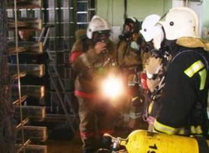 Как пожарные учились спасать