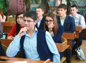 У саяногорских одинадцатиклассников началась горячая пора экзаменов