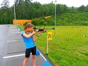 Детские соревнования по биатлону в Черемушках прошли на ура