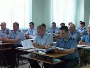 В ОМВД России по городу Саяногорску подвели итоги работы за первое полугодие 2014