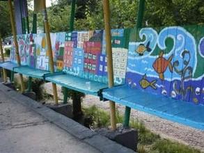 В Саяногорске остановка превратилась в Енисейскую галерею