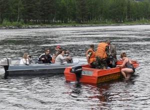 Участники клуба «Саянморж» поблагодарили сотрудников МЧС за содействие в заплыве