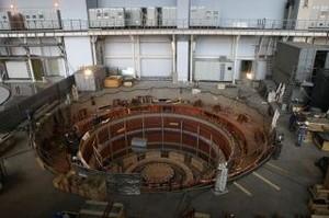 Монтаж последнего гидроагрегата Саяно-Шушенской ГЭС подходит к завершающему этапу