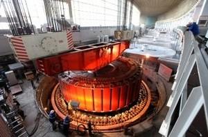 На последнем восстанавливаемом гидроагрегате СШГЭС установлен ротор генератора