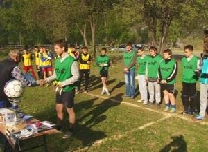 «Саяны» завоевали кубок турнира в честь 40-летия Черемушек