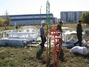 Саяногорцев зовут в новый спортивный городок