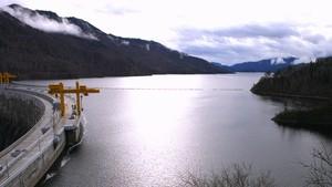 111 тысяч кубометров плавающей древесины извлечено из водохранилища СШГЭС в 2014 году