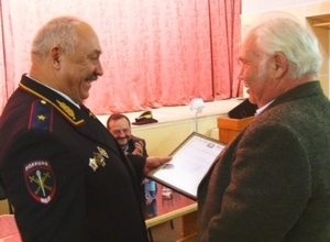 Майнцы получили награды от Министра МВД Хакасии