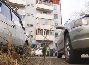 Количество авто увеличивается, место во дворах – уменьшается