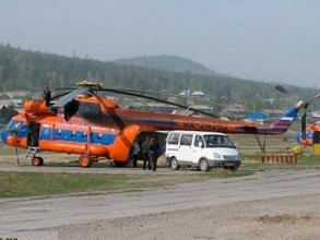 Пропавший в Туве вертолет: на борту могли находиться 14 человек