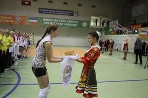 В Хакасии проходят Всероссийские соревнования по волейболу