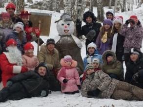 В Саяногорске стартовал новогодний марафон РУСАЛа «Верим в чудо, творим чудо!»