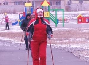 Сильный ветер в Саяногорске не помешал старту «Прогулок выходного дня»
