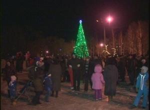 Саяногорск зажигает новогодние огни