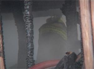 В Черемушках сгорела баня