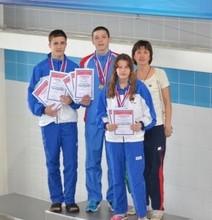 Заплыв черемушкинских спортсменов оказался богат на «золото»