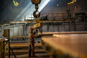 Алюминиевые заводы в Хакасии увеличили производство продукции