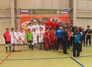 В Саяногорске закончился турнир СФО по мини футболу