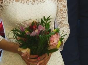 12 пар поженили в Саяногорске в День Святого Валентина
